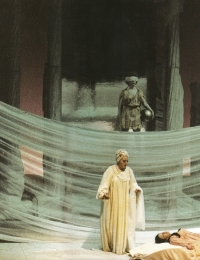 1977, L'Incoronazione di Poppea, Costumes and sets