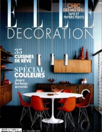 2015 - ELLE Déco France - April