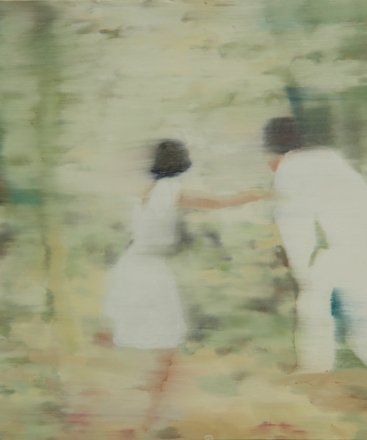 The secret, Oil on canvas, 35 x 43 cm, 2011