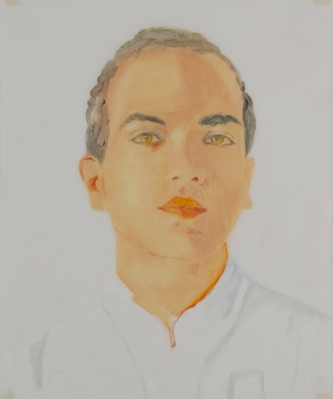 Siddhartha, Oil on paper, 43 x 35 cm, 2012