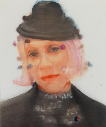 Marie, oil on paper, 35x26cm, 2014
