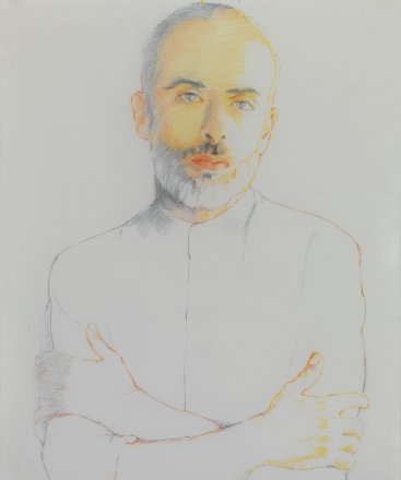 Francesco, pencil on paper, 43x35cm, 2014