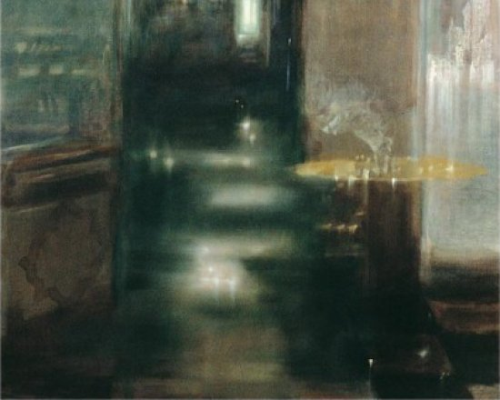 Gold As Sulphur, Oil on canvas, 210 x 130 cm, 1988