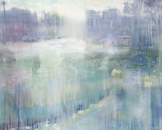 Crystal World, Oil on canvas, 162 x 200 cm, 2009