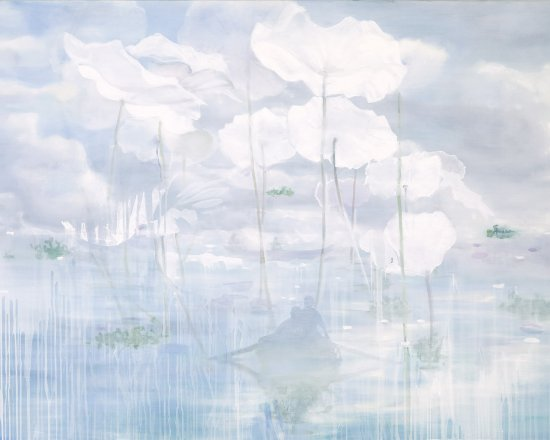 Season To Believe, Oil on canvas, 115 x 162 cm, 2009