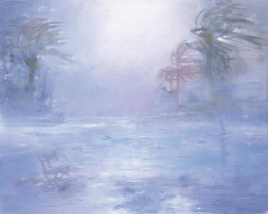 Summer's Premonition I, Oil on canvas, 130 x 155 cm, 2001