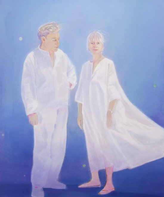 Les Etoiles, Oil on canvas, 120x90cm, 2012