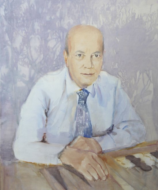 Nicholas,  Oil on canvas, 76 x 62 cm, 2013