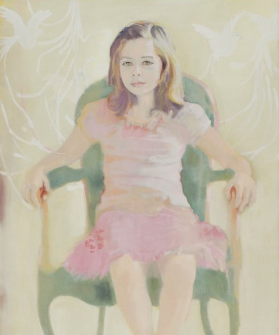 Young Girl, Oil on canvas, 2000